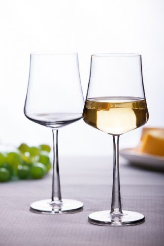 4 White Wine Glasses Novum 350ml